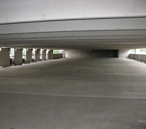 Parking Garage Pressure Cleaning